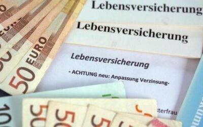 Lebensversicherer wollen Garantie senken